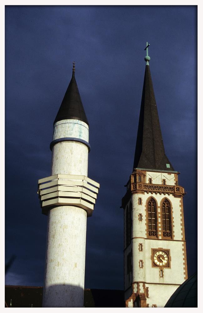 Zwei Weltreligionen unter einer Himmel (reload)