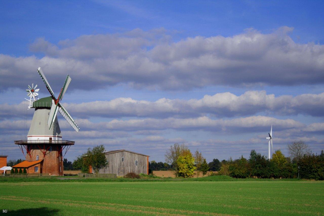 zwei windmühle