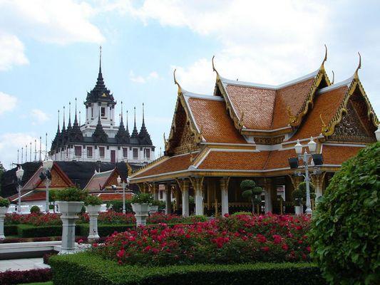 Zweierlei Baustile, Bangkok