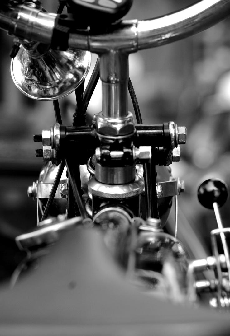 Zweirad-Detail