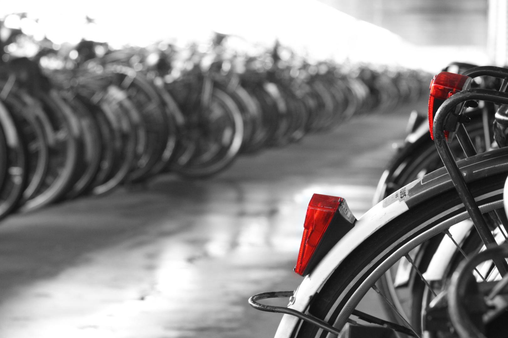 Zweiradparkgarage