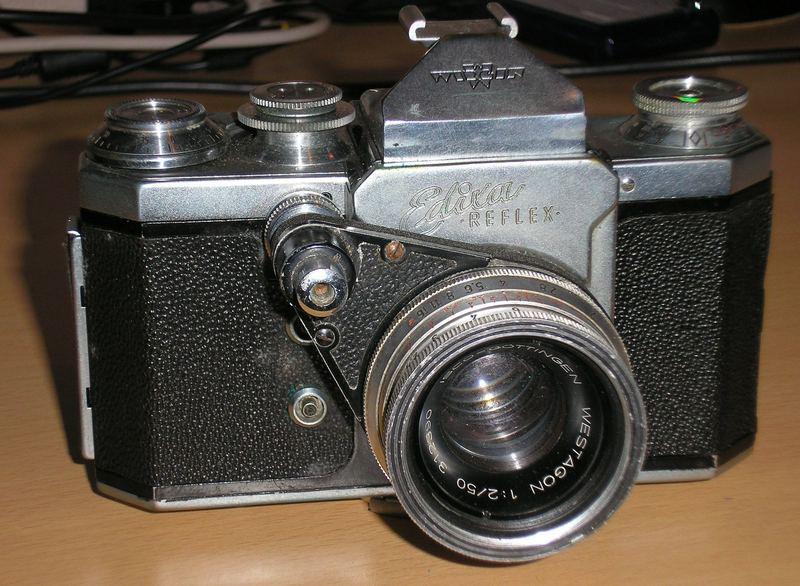Zweiter Fotoapparat 1955