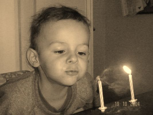 zweiter Geburtstag...