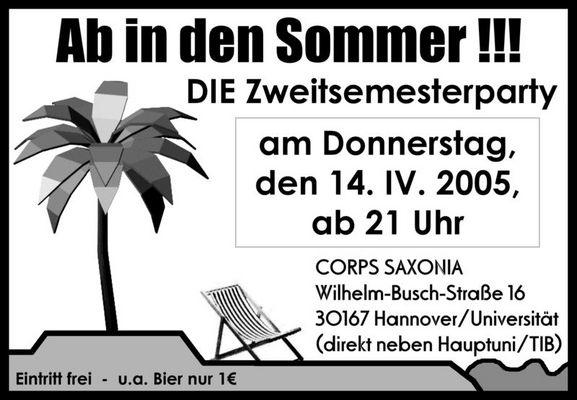 Zweitsemesterparty 05