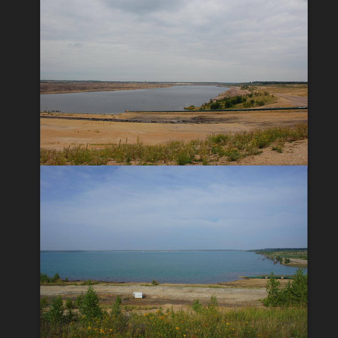 Zwenkauer See 2008 und 2013