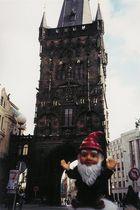 Zwerg in Prag