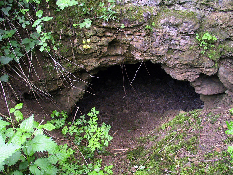 Zwergenloch bei Kirspenich