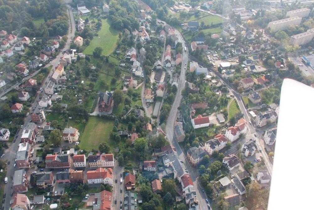 Zwickau von Oben Oberplanitz 2