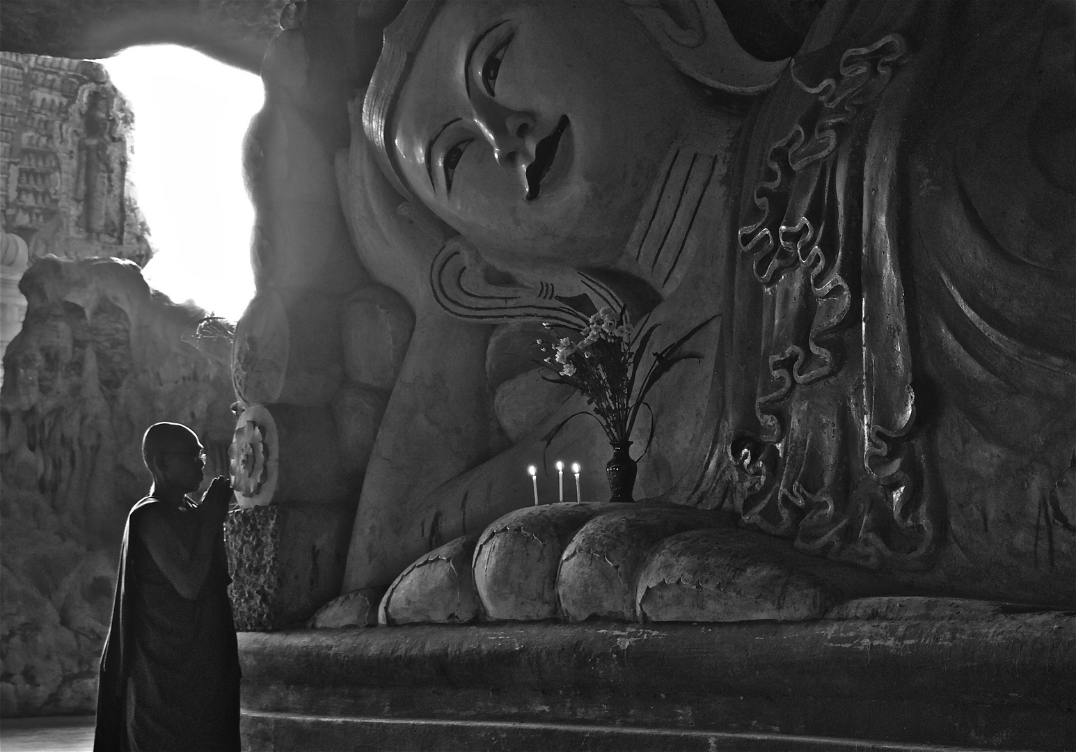 zwiesprache mit buddha
