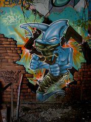 Zwillen-Graffito