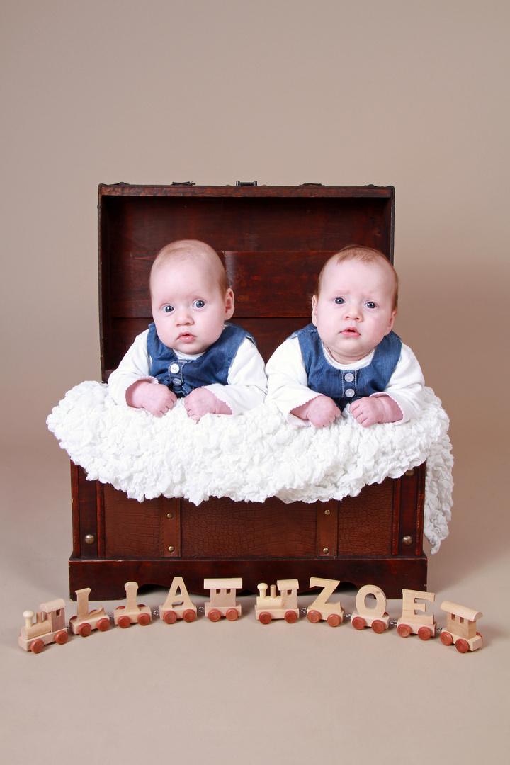 Zwillinge - 4 Monate