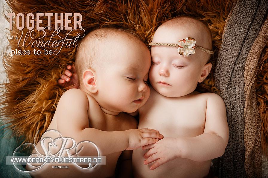 Zwillinge, 9 Monate | Babyfotograf Niederrhein