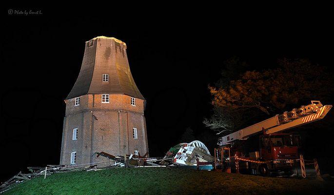 Zwillingsmühle von Greetsiel