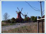 Zwillingsmühlen in Greetsiel...