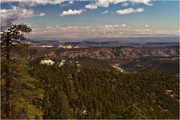 Zwischen Capitol Reef und Bryce Canyon