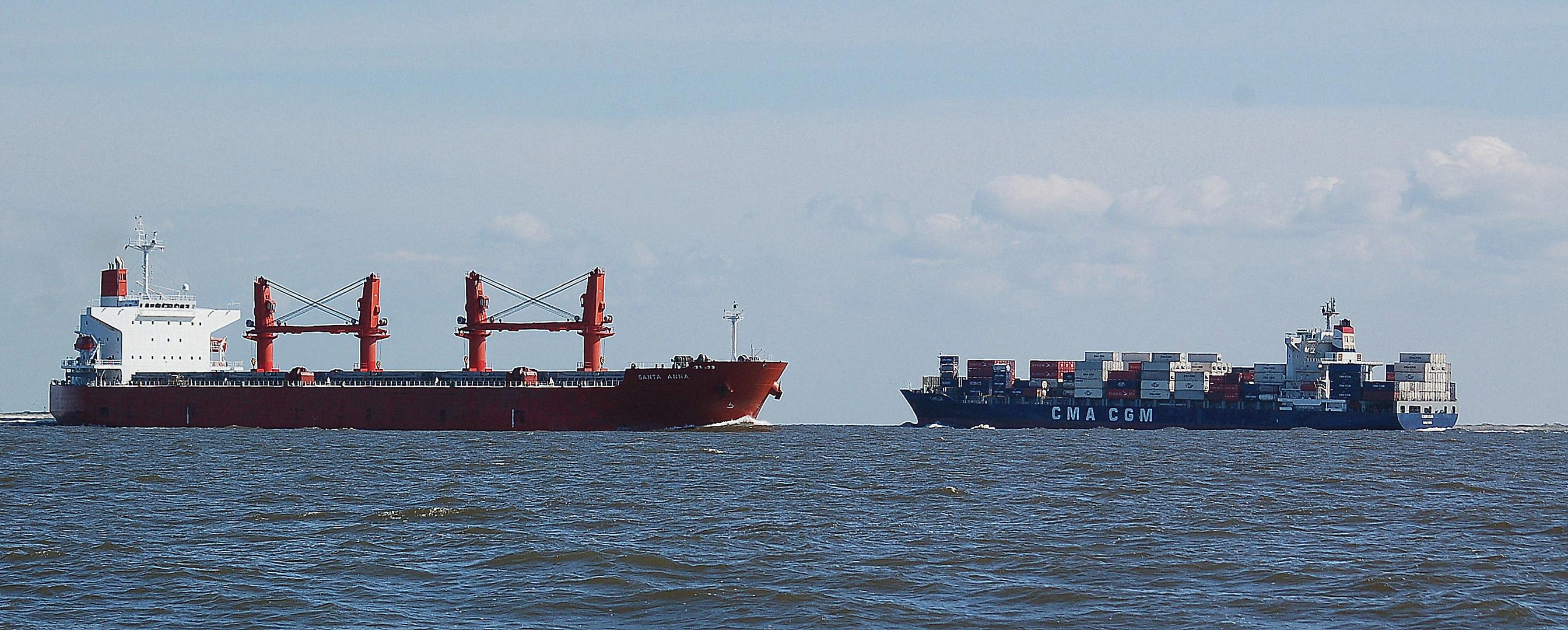 Zwischen Cuxhaven und Helgoland