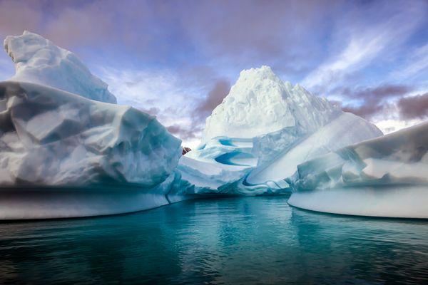 Zwischen den Eisbergen