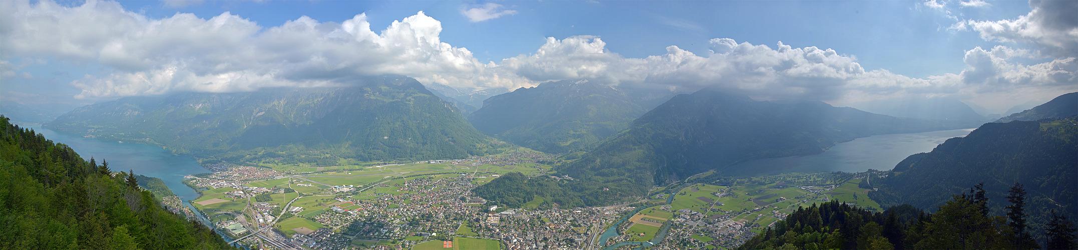 Zwischen den Seen - Interlaken -