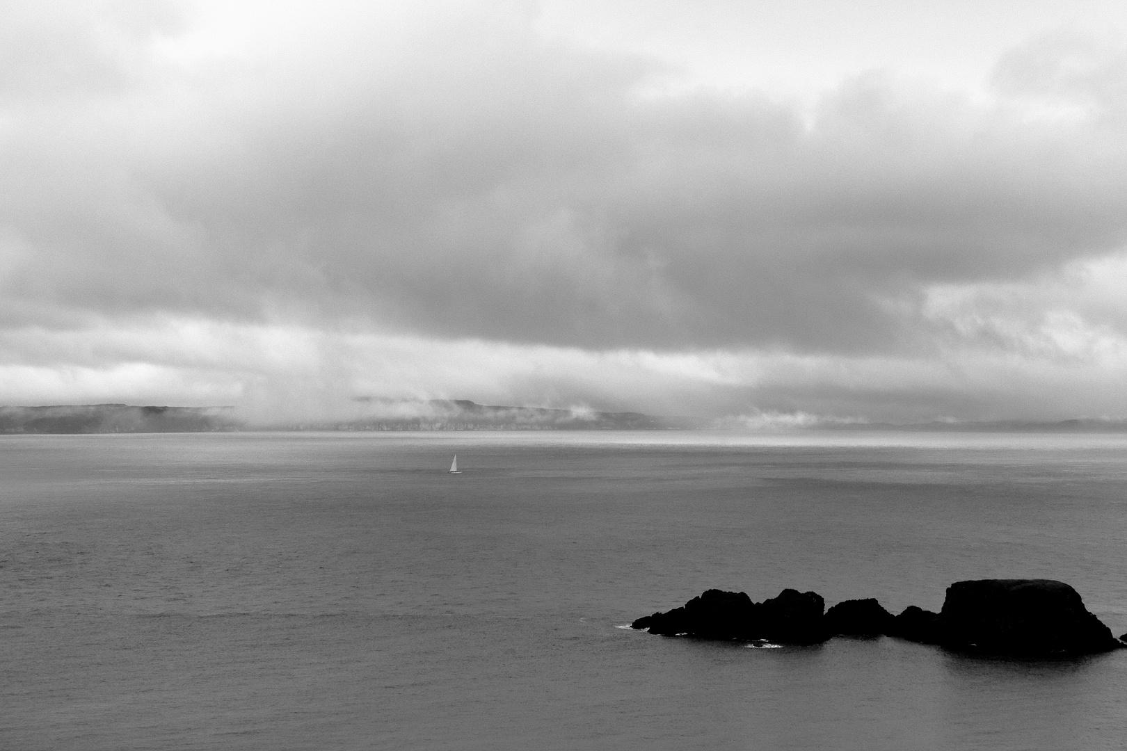 Zwischen den Wolken und dem Meer