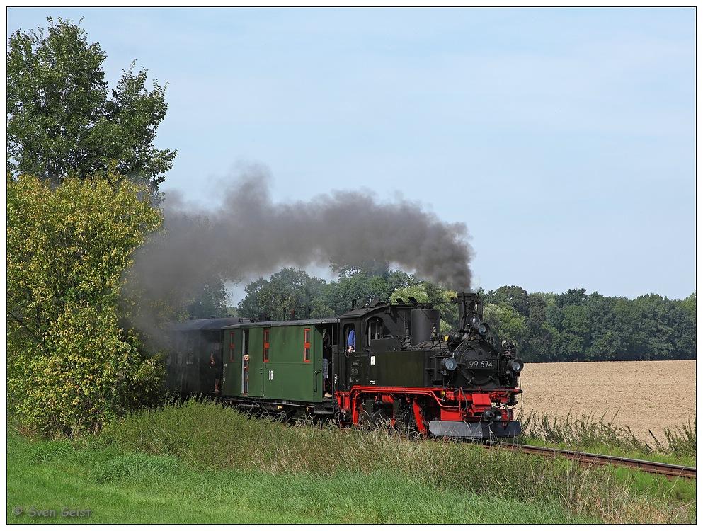 Zwischen Feldern, Wäldern und Wiesen hinter Thalheim