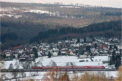 Zwischen Frankfurt und Fulda