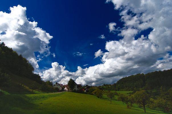 Zwischen Himmel und Erde...