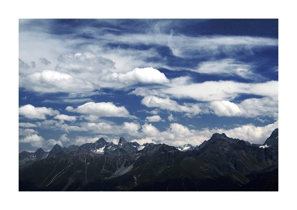 ...zwischen Himmel und Fels...