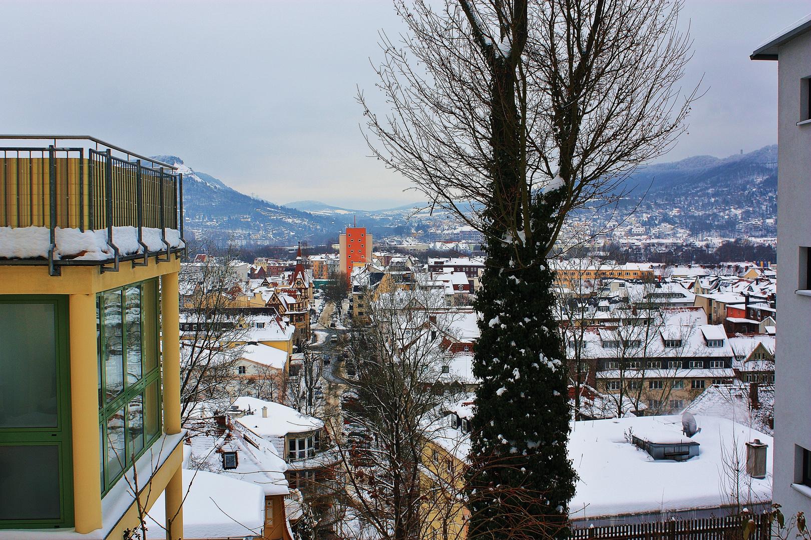 Zwischen Jenzig und Fuchsturm in Jena