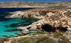 ... zwischen Malta und Gozo ...
