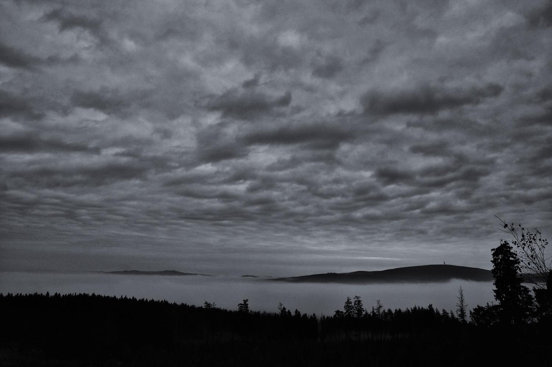 Zwischen Nebel und Wolken