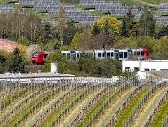 Zwischen Solarfeldern und Weinbergen