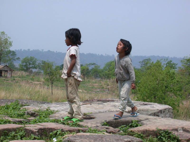 Zwischen Thailand und Kambodscha