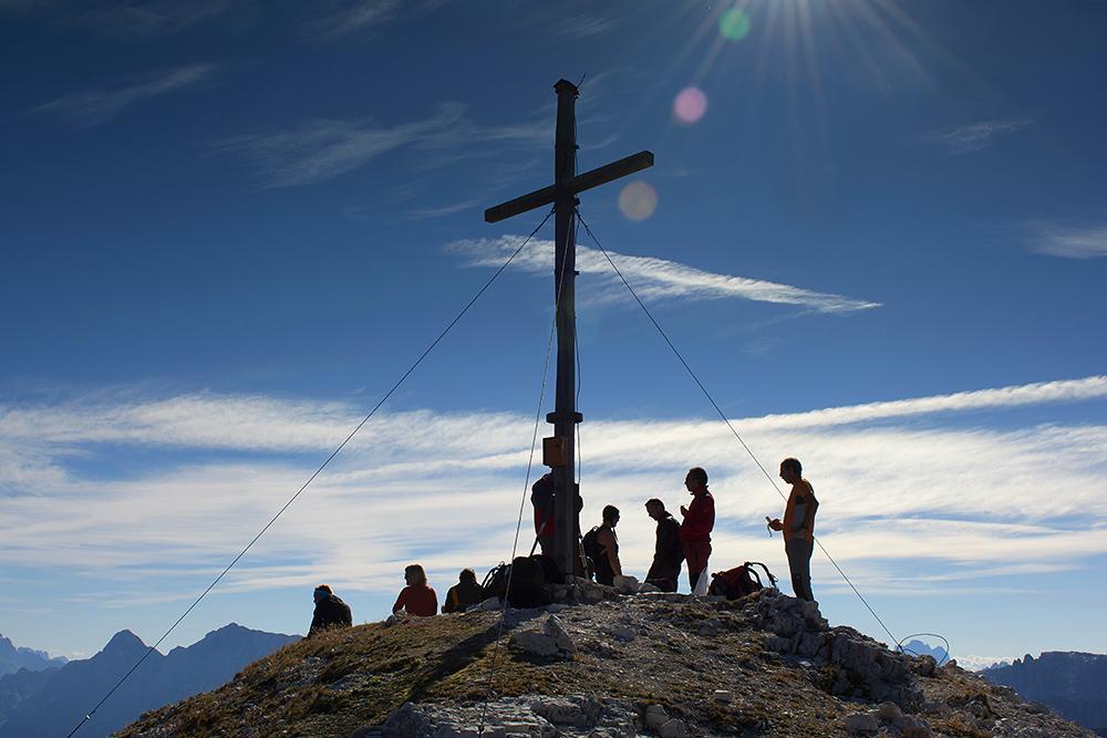 ... Zwischenstop auf dem Tullen - Südtirol ...