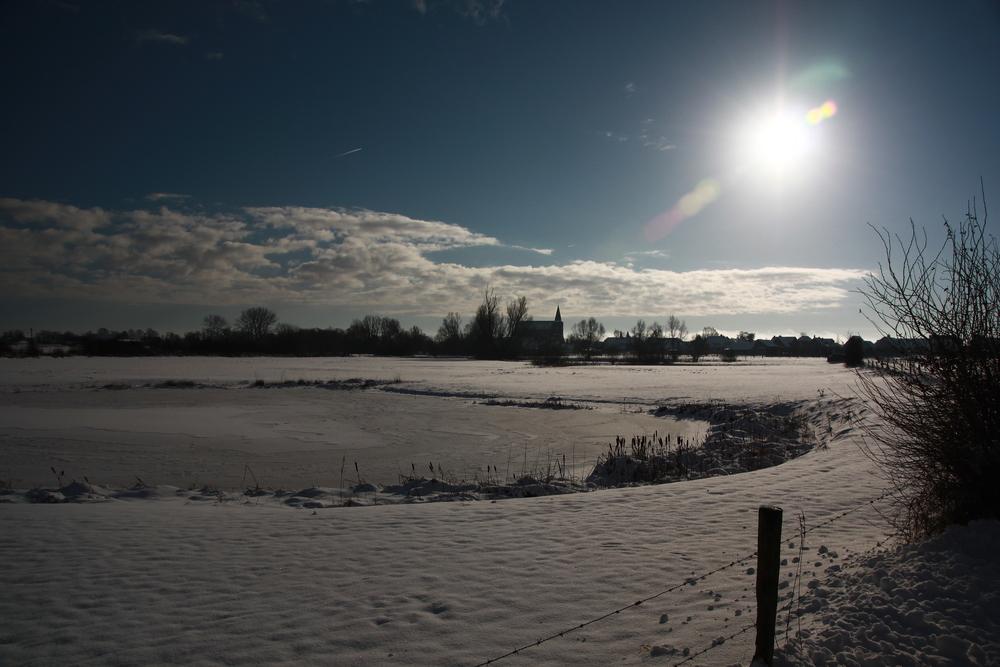 Zyfflich im Winter