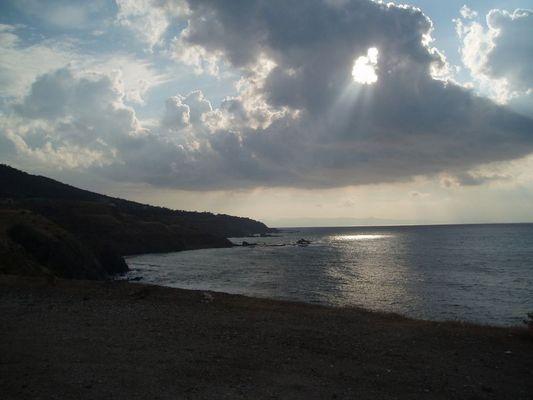 Zypern - anm Abend nach Polis