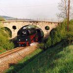 01 1531 auf der Strecke Saalfeld-Arnstadt