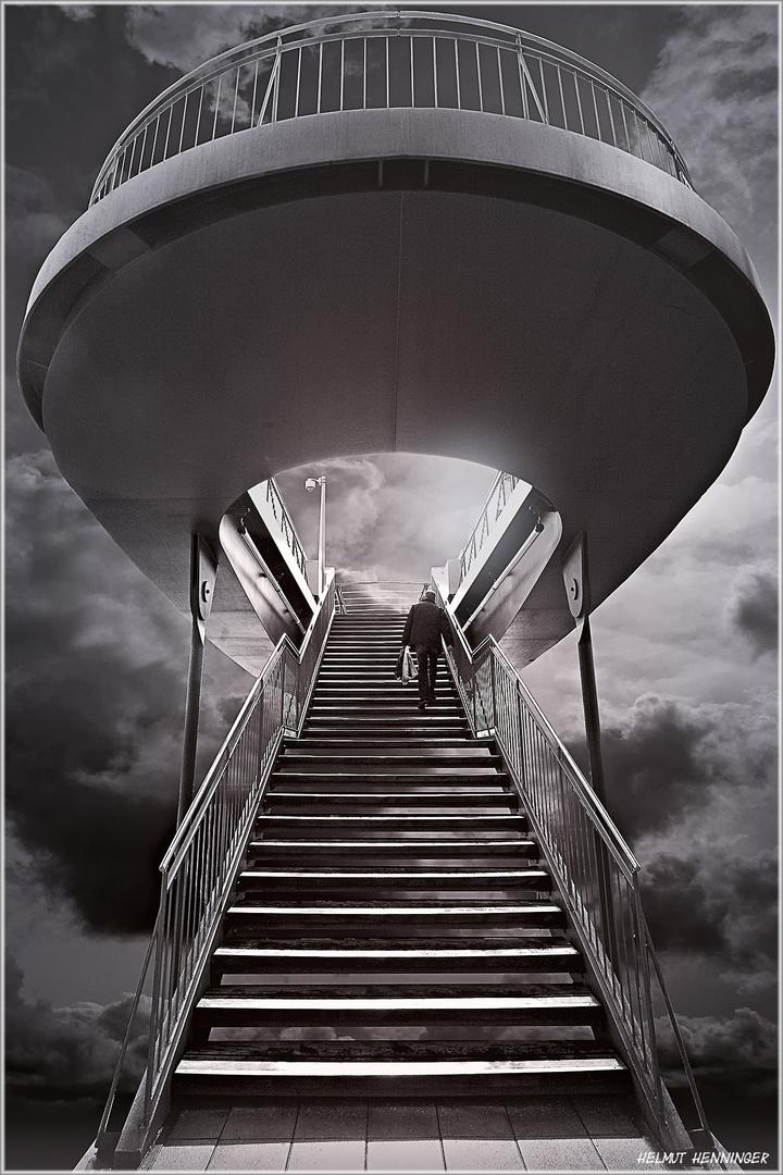 0217 treppe zum himmel foto bild schwarz wei photoshop monochrom bilder auf fotocommunity. Black Bedroom Furniture Sets. Home Design Ideas