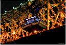 Roosevelt Island Tram alongside Queensboro Bridge by Steve Ember