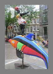 0310-FC-FL-Niki de St.Phalle (1930-2002) Nana on a Dolphin (1984)-Totaal