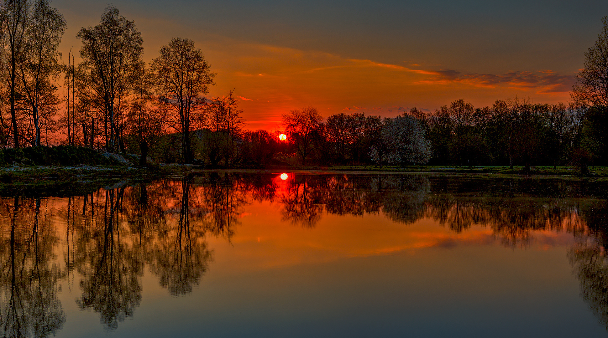 1 Abendstimmung am Teich  021