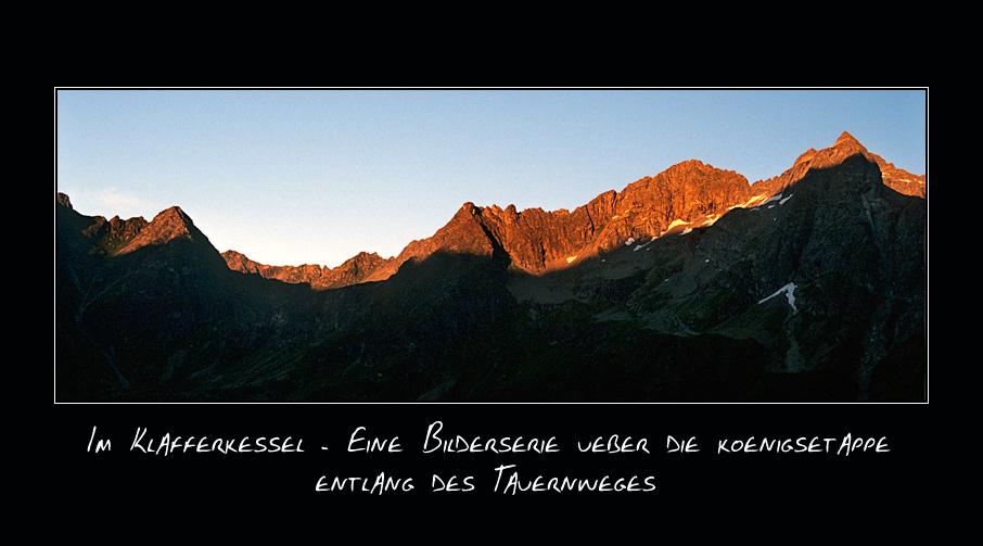 1.) Aufstieg zum Greifenberg