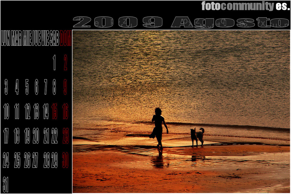 1º CALENDARIO FC ES 2009. - AGOSTO