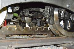 (1) Details des Zahnradantriebes der III C