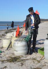1. Leder-Fisherman auf Hiddensee