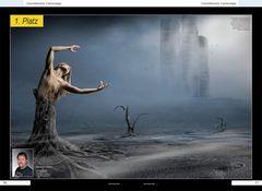 """1. Platz im Wettbewerb """"Fotomontage"""" der Zeitschrift Foto Praxis 04/10"""