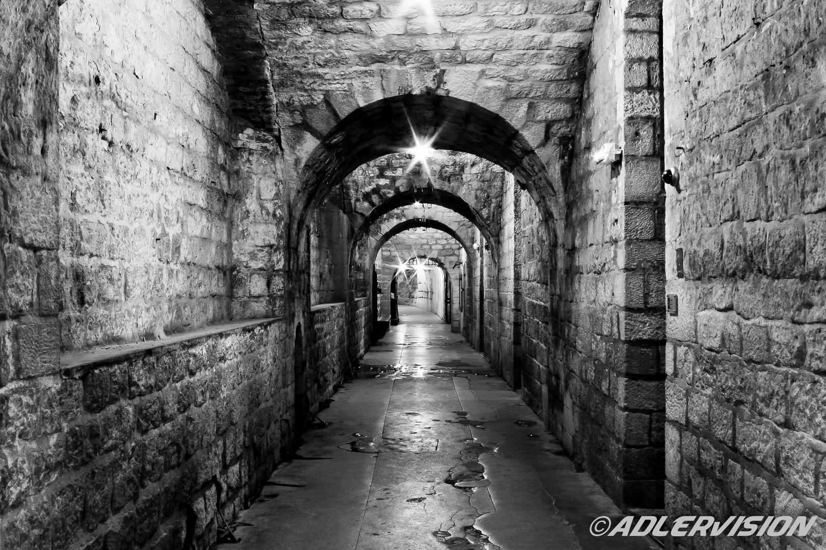 1 ter Weltkrieg.Fort Daumont bei Verdun (Frankreich)