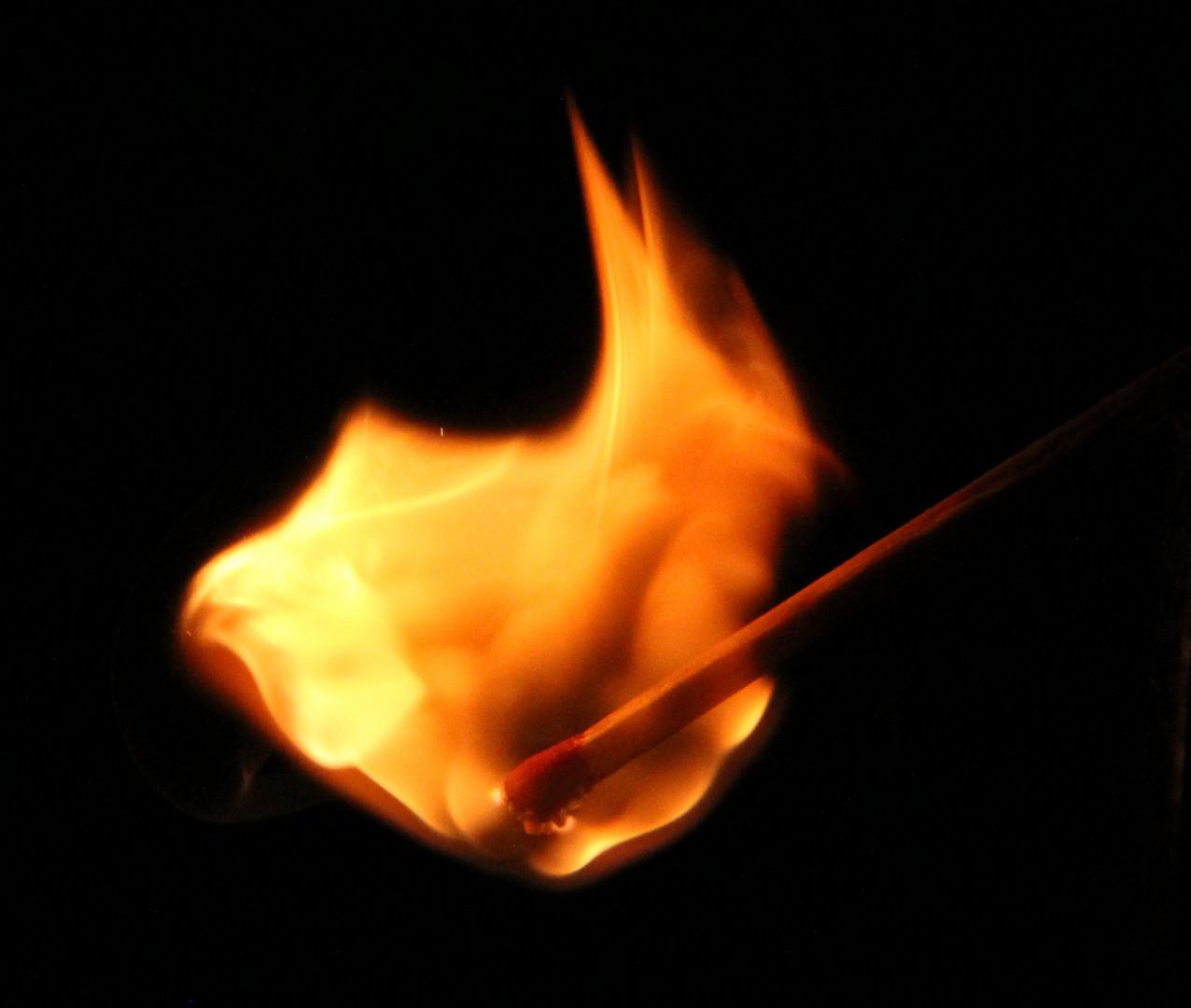 1 Versuch Brennender Kopf