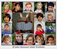 [...10 Jahre Montessori Schule...]