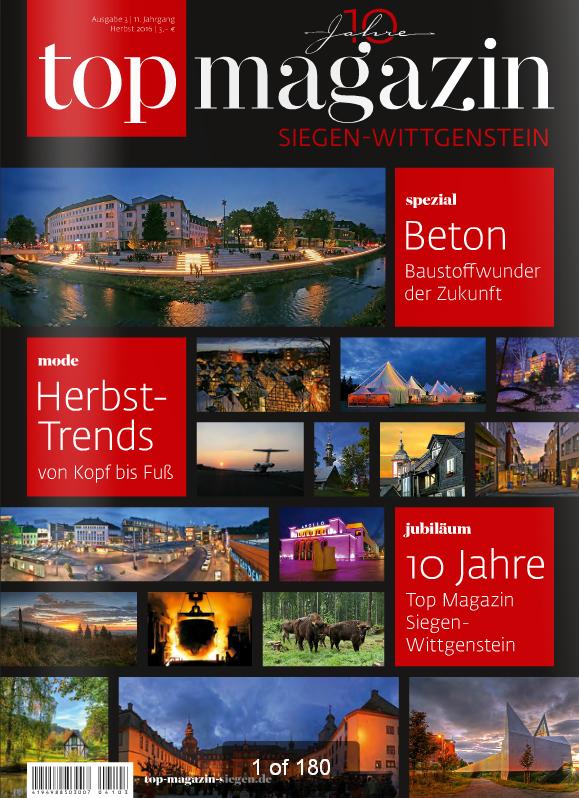 10 Jahre Top-Magazin Siegen-Wittgensteien