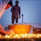 100 Kerzen anzünden